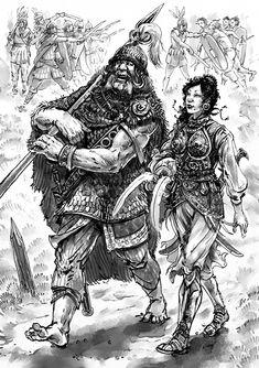 Glorantha: Generals by Merlkir