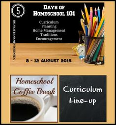 Homeschool 101 - Curriculum Line-up on Homeschool Coffee Break @ kympossibleblog.blogspot.com - On the first day of the…
