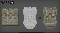 ArtStation - Substance Painter handpaint smart material and tutorial, Luis Armstrong