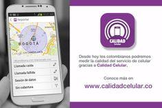 app para medir la calidad de la señal de los diferentes operadores de telefonia movil en colombia:Tigo,une,movistar y claro