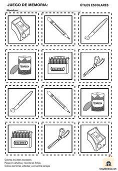 Memory School Items