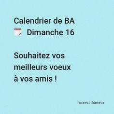 En plus vous pouvez le faire tranquilement depuis votre canapé ;) Greeting Cards, Advent Calendar