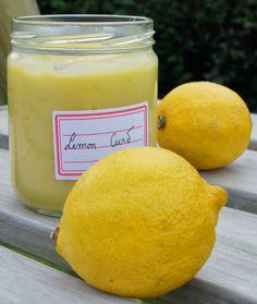 dans la famille gourmandise je veux la mère et la fille : Le lemon curd ou The crème of citron