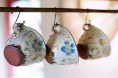 Bonhomie and Radishes: Christine Zablocki's Humorous Earthenware - Ceramic Arts Network Pottery Mugs, Ceramic Pottery, Thrown Pottery, Slab Pottery, Earthenware, Stoneware, Ceramics Monthly, Clay Cup, Boutique Deco