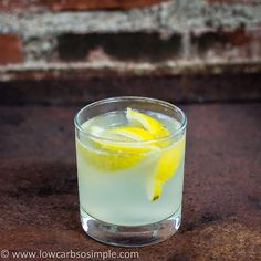 Vodka Collins | Low-Carb, So Simple! (and a whole bunch of other low-carb cocktail recipes!)