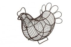 T&G Provence wireware Chicken basketin rustic brown #wireware #rustic #basket #cookwarecompany
