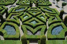 Ornamental garden, Chateau Villandry, May  2012