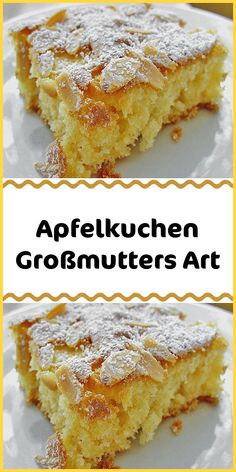 Apple Pie Grandmother's Apple Pie - Apple Pie, Grandma's Way Informations About Apfelkuchen Großmutters Art – Apfel Kuchen Pin You - Easy Vanilla Cake Recipe, Easy Cake Recipes, Muffin Recipes, Dessert Recipes, Scones Ingredients, Vegan Blueberry, Blueberry Scones, Gateaux Cake, New Cake
