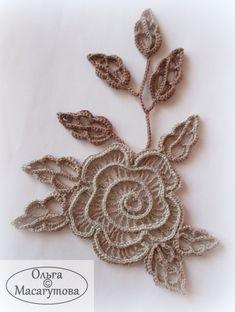 Granny Square Crochet Pattern, Crochet Diagram, Crochet Poncho, Irish Crochet, Crochet Motif, Crochet Flowers, Crochet Lace, Crochet Stitches, Lace Knitting Patterns