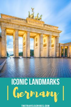 Looking to find the most famous landmarks and iconic places in Germany? We count down 21 of the best must-visit monuments, buildings and natural attractions in Germany, from castles to city halls and everything in between! #germany #travel #landmarks #monuments #buildings #berlin #munich #castles Travel Around Europe, Europe Travel Tips, Places To Travel, Germany Europe, Germany Travel, Amazing Destinations, Travel Destinations, Attractions In Germany, Europe On A Budget