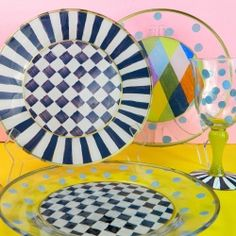 flippin cool!  Make these dishwasher safe Alice in Wonderland dishes from dollar store glassware. @Mark Van Der Voort Van Der Voort Van Der Voort Montano