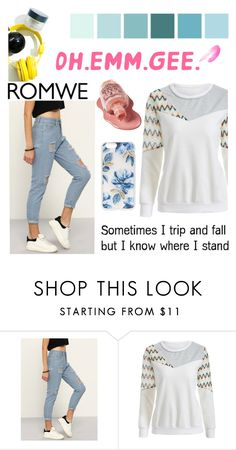 """""""#BeWhoYouAreRomwe"""" by juromi ❤ liked on Polyvore featuring Lauren Conrad and Sonix"""