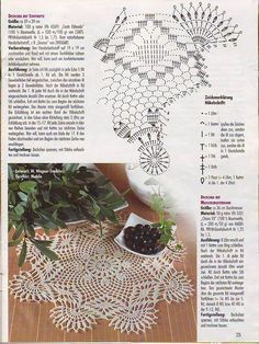 "Photo from album ""FiletHakeln Sonderheft - FI 226 Filethakeln und hakelspitzen"" on Yandex. Crochet Dollies, Crochet Art, Thread Crochet, Love Crochet, Doily Patterns, Suncatchers, Doilies, Plant Hanger, Crochet Projects"