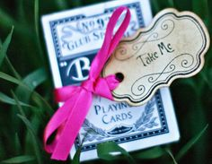 Take me Favor Tags  Alice in Wonderland theme by anistadesigns, $7.00
