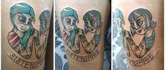 http://girlsandtattoos.de/rita-humbug/  Rita Humbug / Glorious Ink Tattoo / Berlin