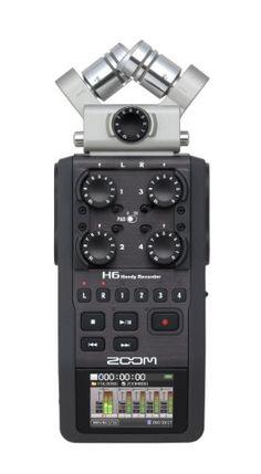 ZOOM ハンディーレコーダー H6  リニアPCMレコーダー ZOOM(ズーム) http://www.amazon.co.jp/dp/B00DFU9BRK/ref=cm_sw_r_pi_dp_W65wub1HFYFY0