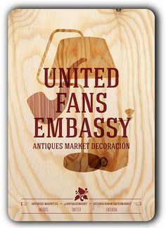 United Fans Embassy - Antiques Market Decoración -  #brandcontent #facebook #antiquesmarket #redecora