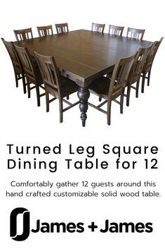 13 Secrets Knew Details About Square Dining Room Tables for 12 Square Dining Room Table, Rectangular Living Rooms, Square Tables, Interior Room Decoration, Room Interior, Table For 12, Side Table Decor, Casual Dining Rooms, Desk In Living Room