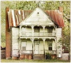 This old house still stands Hwy 11 in Tenn. by mary.j.humphries