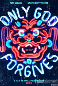 Nicholas Winding Refn's 'Only God Forgives' poster starring Ryan Gosling and Kristin Scott Thomas