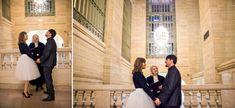 2/24/18: Ashley & Walter Grand Central NYC Wedding with Denueva Photo @RevAnnieNYC