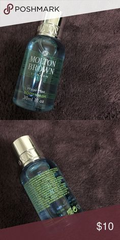 Molton Brown water mint body wash 30ml Brand New!! Water mint body wash 30ml good for travel ! Molton Brown Makeup