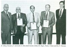 Norweb, R. Henry Jr (1918-1995) with Arthur M. Kagin, Frank J. Katen, Eric P. Newman and Leslie Elam, ANS Newsletter Summer 1994 1