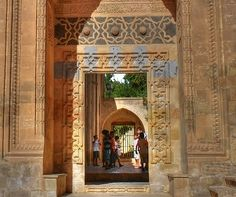 Latifiye camii kapısı Mardin Turu, Marmaris, Islamic Art, Old Doors, Mosque, Furniture Decor, Istanbul, Antiques, Interior Design