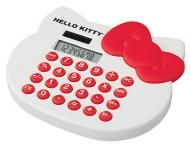 Price $14.24 Hello Kitty 8-Digit Desktop Calculator  New And Sealed Easy-to-read Numeric Display Size 5W x 4.4H x 0.6D For Canada amp; Usa Only....