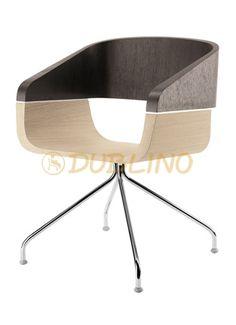 PEDRALI 762 APPLE Fém vázas szék fa ülőhéjjal - PEDRALI 762