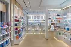 """All Farmacia I+ stores are designed with what might be called """"Lego concept"""" so that the design can be adapted to the surface, both 30m2 pharmacy as one of 300m2. We hope you like it."""