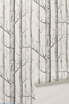 a walk through the woods. good for a short hallway, too trendy for a house of sticks?