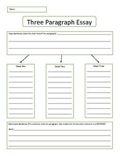 This three page graphic organizer can help students work through each paragraph of a three paragraph essay. Paragraph, Graphic Organizers, Student Work, Teacher Newsletter, Teacher Pay Teachers, Kids Learning, Middle School, Bar Chart, Organization
