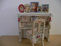 One Inch Scale Dollhouse Miniature Shabby by StorybookMiniatures, $65.00