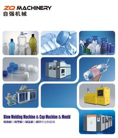 ZQ Machinery is a professional manualfacturer of PET packaging industry. We can provide Stretch Blow Molding Machine,Extrusion Blow Molding Machine,Plastic cap compression molding machine,Injection molding machine,PET preform mold and Blowing mould,etc.