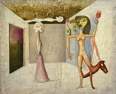 See related links to what you are looking for. Victor Brauner, Abstract Geometric Art, Pop Surrealism, Weird Art, Fantastic Art, Animal Paintings, Art Pictures, Sculpture Art, Pop Art