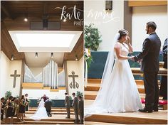 Presbyterian Community Church of the Rockies wedding ceremony