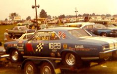 Vintage Drag Racing - 66 Chevelle