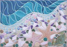 Toms Royal Mosaic Art Aquatic Life