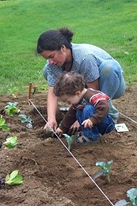 Toddler Garden Tips