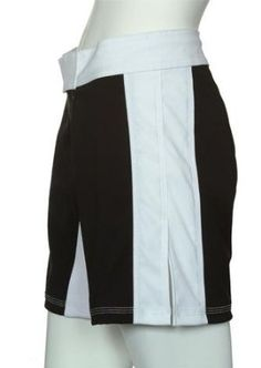 """UN92 Women Stripe MMA Fight Shorts - Black/White-6 by UN92. $29.95. Heavy weight 2 way stretch microfiber. Curve fix waistband with a drawcord. 5"""" slits on outseam.. Made in the USA. Double ply lycra flex panel. UN92 Women Stripe MMA Fight Shorts - Black/White, the fight shorts to represent you or your team, not someone else! These high performance fight shorts are built tough and flexible. Heavy weight two way stretch body with two layer lycra flex panel. Triple stit..."""