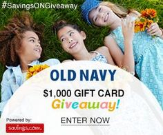 """Like"" to win a $50 Old Navy gift card?  You've gotta enter this SavingsONGiveaway w/ 20 winners!!!  ENTER---> http://freebies4mom.com/winoldnavy"