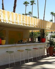 Parker/Palm Springs...love the awning!