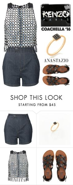 """Anastazio-Coachella"" by anastazio-kotsopoulos ❤ liked on Polyvore featuring Carven, Manning Cartell, Billabong and Kenzo"