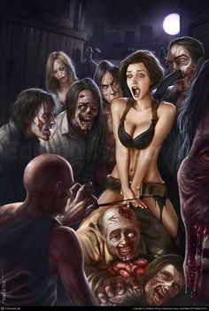 Horny #zombies Rafael Teruel Cáceres