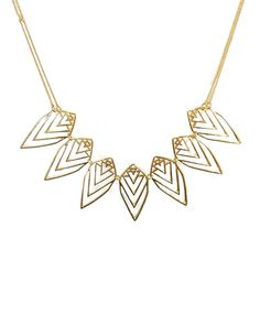Gold Nature Necklace - JewelMint
