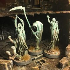 Undead etherals - This weekend I played a dungeon crawling game with my son and the undeads gave him a hard time...