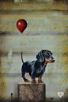 Arte Dachshund, Dachshund Love, Brown Dachshund, Dog Breeds Little, Dog Grooming Shop, Cute Dog Collars, Best Dog Toys, Interactive Dog Toys, Weenie Dogs