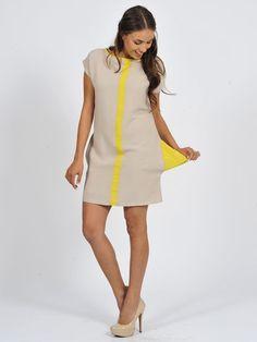 The neon panel tunic | www.diligo.co.za Spring Summer, Tunic, Neon, Summer Dresses, Fashion Design, Shopping, Collection, Women, Style