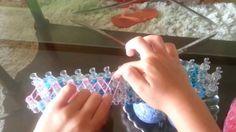 Video de Sofi Enseñando a Hacer Pulseras de Ligas de Colores